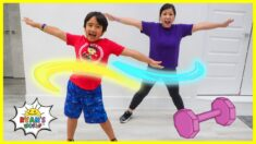 Kids Workout Exercise at home with Ryan!!!