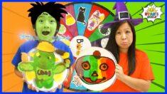 Pancake Art Challenge Spin The Mystery Wheel Halloween Edition 2020!!!