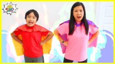 Superhero Exercise Workout for kids with Ryan's World!!!