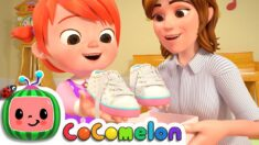 Tie Your Shoes Song | CoComelon Nursery Rhymes & Kids Songs