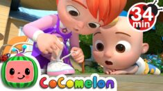 Learn To Tie Your Shoes + More Nursery Rhymes & Kids Songs – CoComelon