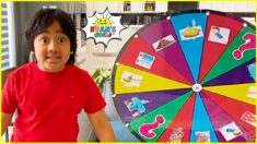Ryan's Spin the Mystery Wheel Challenge and more 1 hr fun kids activities!