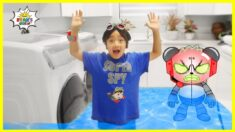 Robo Combo Flood Ryan's House Pretend Play!!