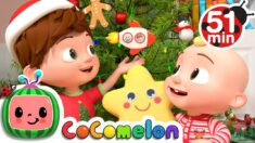 Tom Tom's Holiday Giving Song  + More Nursery Rhymes & Kids Songs – CoComelon