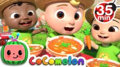 Cooking With Vegetables Song + More Nursery Rhymes & Kids Songs – CoComelon
