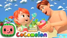 Daddy Daughter Beach Day | CoComelon Nursery Rhymes & Kids Songs