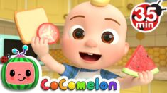 Shapes In My Lunch Box Song + More Nursery Rhymes & Kids Songs – CoComelon