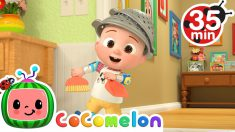 Clean Up Song + More Nursery Rhymes & Kids Songs – CoComelon