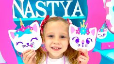DIY kid's room ideas for children 3-9 years old from Nastya