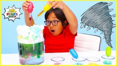 Easy DIY Weather Science Experiments for Kids to do at home!!