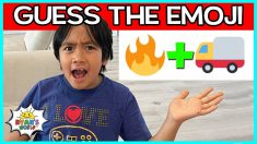 Guess The Emoji Challenge with Ryan!!