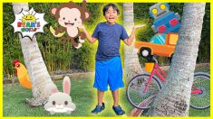 Living and NonLiving Things for kids | learning video with Ryan's World!