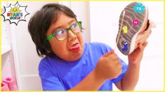 Ryan's Science Experiments with Bacteria on His Shoes and more 1hr kids Video!!