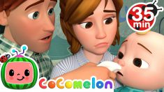 Sick Song + More Nursery Rhymes & Kids Songs – CoComelon