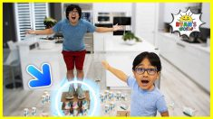 Standing on Paper Cups Challenge | Science Experiments easy DIY!