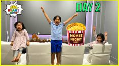 Last to Leave the Theatre Room Wins Challenge and more 1hr kids activities!
