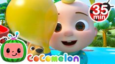 Balloon Race Song + More Nursery Rhymes & Kids Songs – CoComelon