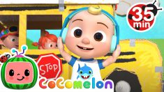 Wheels on the Bus (Play Version) + More Nursery Rhymes & Kids Songs – CoComelon