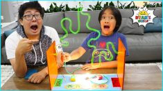 How to Make Buzz Coil Game and 1hr of DIY Science Experiments for kids!