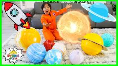 Learn about the planets in our solar system for Kids with Ryan!