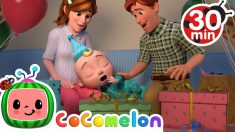 Night Before Birthday Song + More Nursery Rhymes & Kids Songs – CoComelon