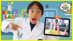 Ryan's Lab App Play and Learn science Experiments for kids!