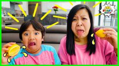 The five Senses for kids | Educational Video with Ryan's World!