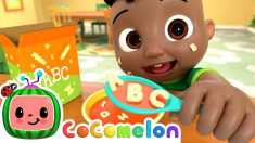ABC Song (Food Edition) | CoComelon Nursery Rhymes & Kids Songs