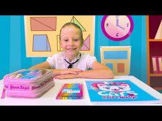 Nastya and her Back to School story