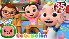 Wave Hello Song + More Nursery Rhymes & Kids Songs – CoComelon