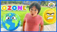 What is the Ozone Layers for Kids | Learning video with Ryan's World