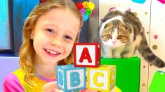 Nastya learns the Alphabet, colors and numbers / Collection learn like Nastya