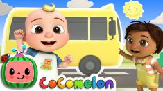 Do The Wheels On The Bus Dance | CoComelon Nursery Rhymes & Kids Songs