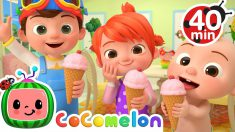 Ice Cream Song + More Nursery Rhymes & Kids Songs – CoComelon