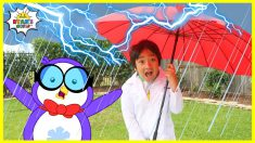Ryan Learns about the Water Cycle | Educational Video for kids