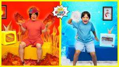 Ryan's Hot vs Cold Roommate