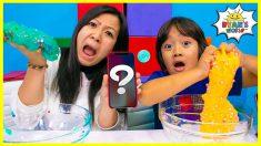 SIRI Picks Our SLIME Ingredients Challenge!!