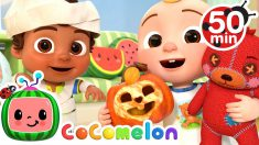 Halloween Dress Up Song + More Nursery Rhymes & Kids Songs – CoComelon