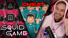 I Cheated In Squid Game Roblox..