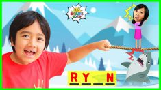Ryan Plays HangMan Guess the Word game!